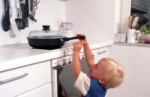 ожоги у детей на кухне