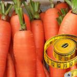 Морковная диета, или Как похудеть на моркови?