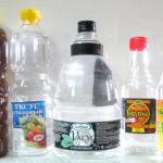 Уксус устраняет запахи на кухне