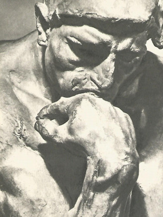 """Скульптура Родена """"Мыслитель"""""""