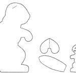 Простые мягкие игрушки для малышей