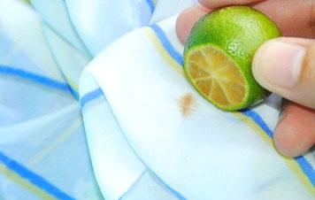 Чем вывести пятно от вишни
