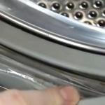 Черная плесень в стиральной машинке