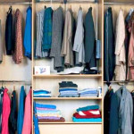 Как хранить одежду в шкафу?