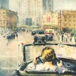 Юрий Пименов: картина «Новая Москва»