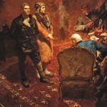 Картина «Допрос коммунистов». Б. Иогансон