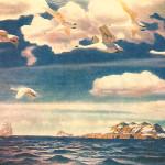 Картина «В голубом просторе»: А. А. Рылов