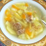 Что делать, если пересолен суп?