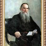 Илья Репин: Портрет Толстого. Описание картины