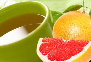 Напиток: грейпфрут и зеленый чай. Как восстановить баланс микрофлоры?